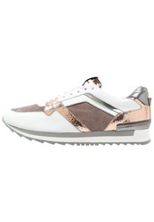 Kennel Schmenger Frame Trainers Bianco Rose Grau White