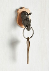 Rawr Power To You Key Holder In Rhino Mod Retro Vintage Decor Accessories Modcloth.Com