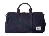 Herschel Novel Canvas Indigo Duffel Bags Blue