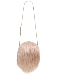 Simone Rocha Fur Shoulder Bag