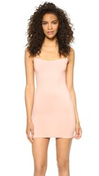 Free People Seamless Mini Slip Soft Pink
