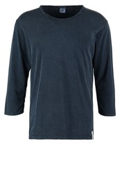 Scotch And Soda Long Sleeved Top Blue Steel Light Blue
