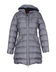 Club Des Sports Coats And Jackets Down Jackets Women Grey