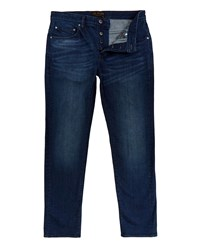 Ted Baker Simms Straight Fit Mid Wash Jeans Blue
