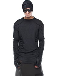Demobaza Dimension Viscose And Wool Jersey Top
