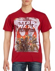 Mad Engine Star Wars Rogue One Tee Red