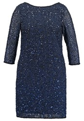 Frock And Frill Curve Sydney Cocktail Dress Party Dress Navy Dark Blue