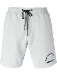 Marc By Marc Jacobs Logo Track Shorts Grey
