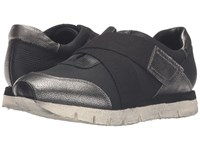 Otbt New Wave Black Silver Women's Hook And Loop Shoes