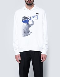 Undercover Pullover Hoodie White