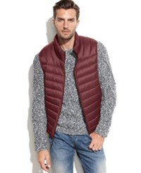 Hawke And Co. Outfitter Lightweight Packable Down Vest Wine