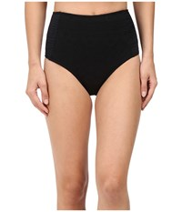 Roxy Cozy And Soft High Waist Bottom True Black Women's Swimwear