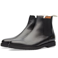 Common Projects Chelsea Boot Leather Black