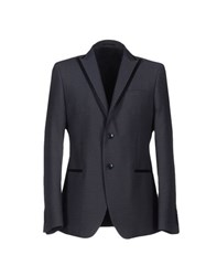 Manuel Ritz Suits And Jackets Blazers Men Slate Blue