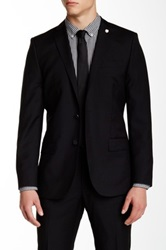 J. Lindeberg Mick Regular Fit Virgin Wool Jacket Black