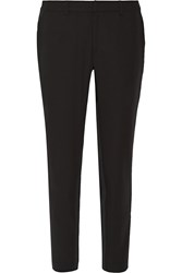 Opening Ceremony Moodie Mesh Trimmed Twill Straight Leg Pants Black
