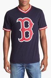 Men's Wright And Ditson 'Boston Red Sox' V Neck T Shirt
