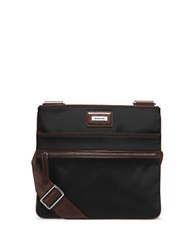 Michael Kors Windsor Nylon Small Crossbody Bag Black Brown