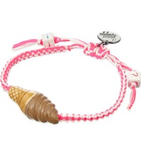 Venessa Arizaga I Scream 4 Ice Cream Ceramic Bracelet Pink