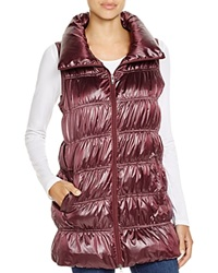 Eileen Fisher Down Puffer Vest Bloomingdale's Exclusive Rumberry