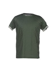 Alice San Diego Topwear T Shirts Men Green