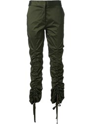 Manning Cartell Ruched Trousers Green