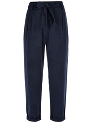 Jaeger Slouchy Trousers Midnight