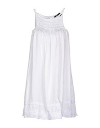 G.Sel Short Dresses White