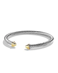 Cable Classics Bracelet With Gold David Yurman