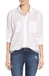 Women's Splendid X Damsel The Cotton Collection Button Front Shirt White