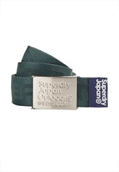 Superdry Jacquard Belt Green