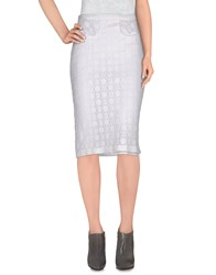 Burberry Prorsum Skirts Knee Length Skirts Women White