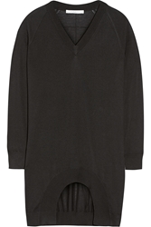 Givenchy Cashmere Wool And Silk Blend Sweater