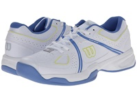 Wilson Nvision Envy White Peri Blue Women's Tennis Shoes