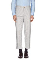 Umit Benan Trousers Casual Trousers Men White