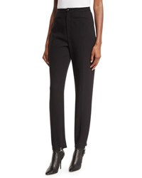 Balenciaga High Waist Stirrup Pants Black