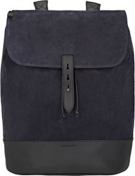 Tomas Maier Flap Front Backpack Blue
