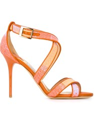 Jimmy Choo 'Lottie'sandals Yellow And Orange