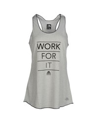 The North Face Topwear Vests Women Light Grey