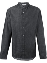 Christian Dior Homme Denim Shirt Black