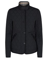 Aquascutum London Stoney Quilted Jacket Black