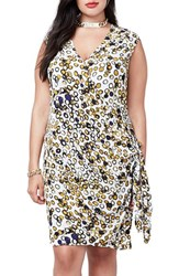 Rachel Roy Plus Size Women's Side Tie Dress
