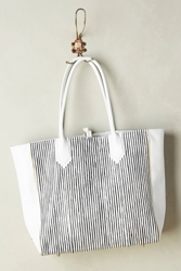 Lauren Merkin Reese Tote Black And White