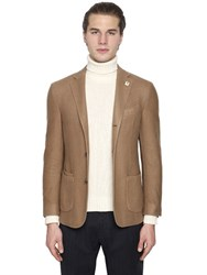 Lardini Cashmere Jacket With Patch Pockets