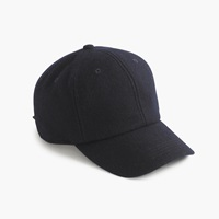J.Crew Wool Baseball Cap Navy