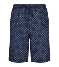 Derek Rose Kaleidoscope Shorts Male Navy