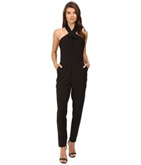 Adelyn Rae Halter Jumpsuit Black Women's Jumpsuit And Rompers One Piece