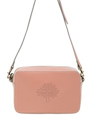 Mulberry Blossom Perforated Nappa Shoulder Bag
