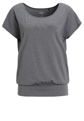 Venice Beach Riamee Basic Tshirt Dark Grey