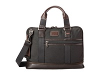 Tumi Alpha Bravo Earle Compact Brief Hickory Briefcase Bags Brown